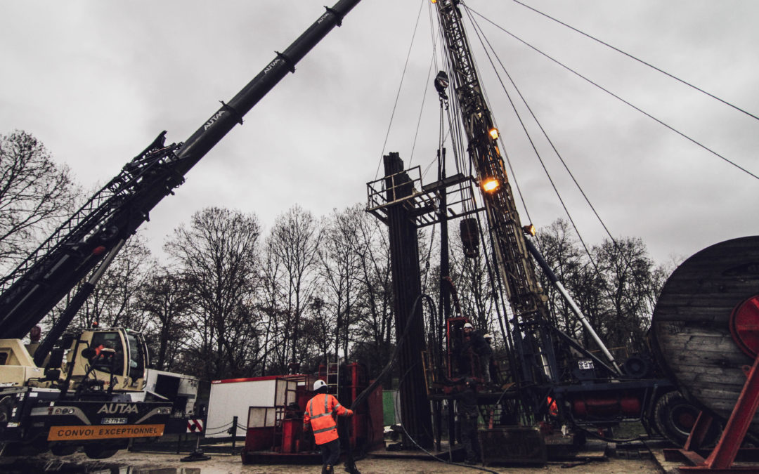 Opération de workover sur le puits de production